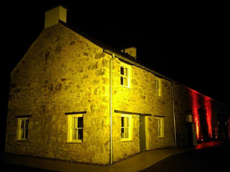 Professional outdoor architectural lighting hire in north wales professional outdoor architectural aloadofball Choice Image