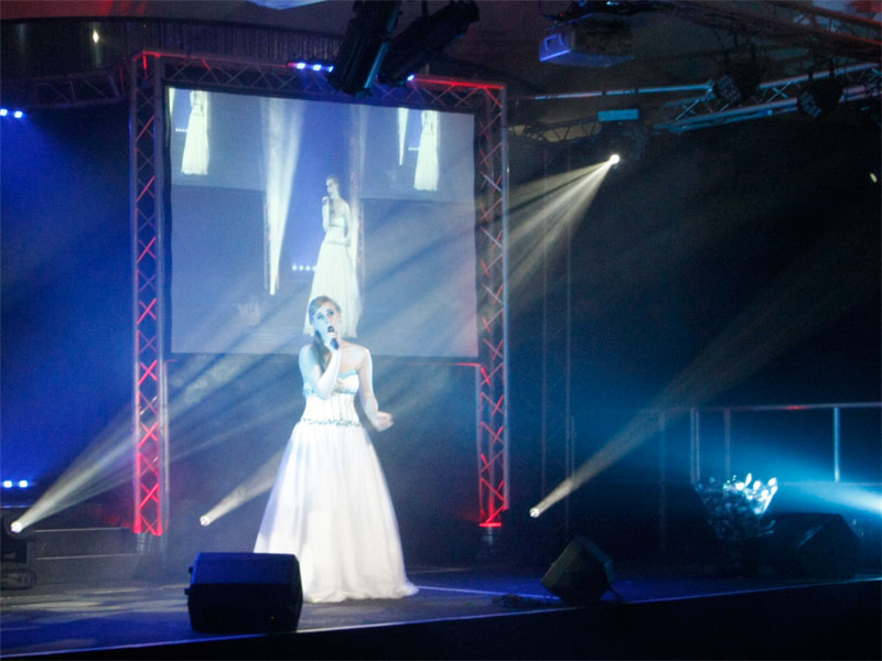 Professional Projector & Screen equipment hire in North Wales